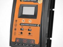 Regulator solar mppt 12v 24v 30a lcd fotovoltaic