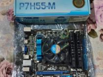Placa de baza P7H55-M+I5-760