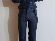Costum moto piele, combinezon nou IXS, de damă, nr. 36 XS/S