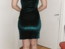 Rochie catifea, mărimea S-M