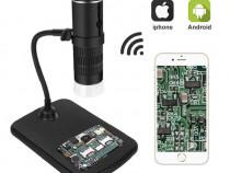 Microscop video digital 1000x WiFi stand special pt telefon