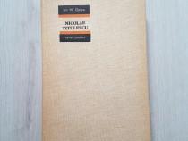 Carte Nicolae Titulescu Ion M Oprea editura stiintifica 1966