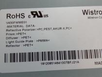 Bareta led,suport Sony Kdl-43w808c,kdl-43w807c,kdl-43w756c