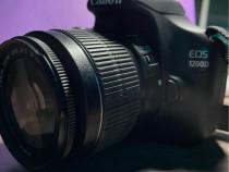 Canon 1200D cu oboectiv 18-55mm