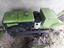 Motocultor diesel 15 CP (Bizon) plus utilaje aferente