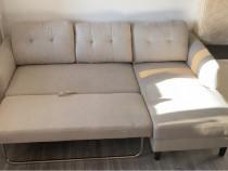 Canapea extensibila cu colțar
