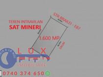 ID 7464 Teren INTRAVILAN * Sat Mineri