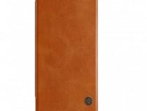 Husa Flip Piele Nillkin Qin Samsung Note 20 - Maro