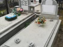 Loc de veci semicavou in Cimitirul Central Bacau