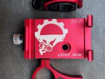 Pachet suport telefon+sonerie bicicleta