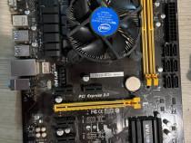 Placi de baza Biostar TB250 BTC+ cu procesor Intel și cooler