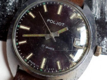Ceas rusesc POLJOT, cal. 2614.2H, 17 rubine, funcțional