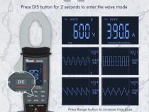 MUSTOOL MT336 Cleste ampermetric + functie de osciloscop