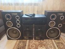 Sistem audio cu 4 boxe vintage