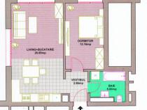 Apartament 2 camere ultracentral bloc nou etaj 1