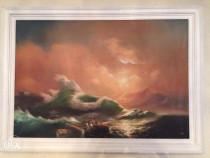 Tablou reproducere dupa Al Nouălea Val de Ivan Aivazovsky
