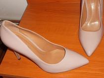 Pantofi noi, piele, super calitativi