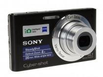 Sony*DSC-W320*Black*NEW*14,1mp*Carl Zeiss*SteadyShot*