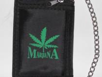 Portofele cu lant de pantaloni:cranii,Marijuana,Pentagrama