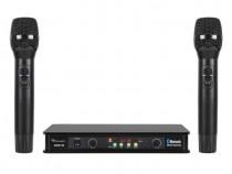 Set 2 microfoane wireless Azusa cu functia Bluetooth
