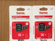 Card memorie Hama 8 GB Carduri micro sd 8gb +Adaptor Hama