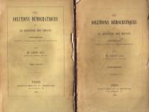Les Solutions Démocratiques de la Question des Impots (1886)