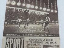 Revista sport nr. 10/ 1969