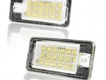 Set Lampa Led numar pt Audi Q7, A3, A4, A6, A8, RS4, RS6, S6