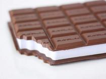 Carnetel tableta de ciocolata cu miros de căpșuni