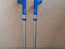 Carje ortopedice aluminiu, reglabile, suport antebrat