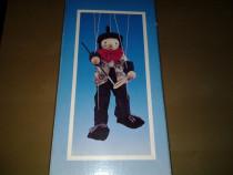 Marionetă cu sfori clovn 41 cm jucarie copii