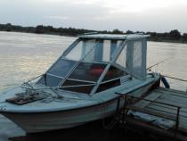 Ambarcațiune pescuit, motor outboard Mercury 115c, peridoc