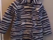 Paltonas modern NEXT, print zebra, 3-5 ani