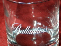 4 pahare whiskey Ballantine's, noi - diverse modele