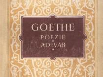 Poezie şi adevăr de Goethe