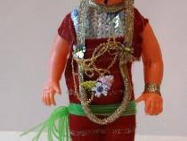 Papusa vintage de colectie- costum traditional