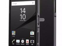 Sony xperia z3 - bumper rama aluminiu capac negru oglinda
