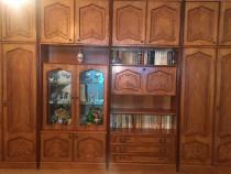 Biblioteca lemn masiv fag