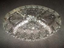 Fructiera cristal cu dimensiunea de 28/18 cm