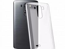 LG G3 - Husa Fumurie Transparenta Silicon Subtire 0.4mm