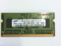 Memorie laptop Samsung 1GB DDR3-1066 PC3-8500 CL7 SODIMM