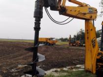 Burghiu de pamant acţionat hidraulic -Foreza  DIGGA