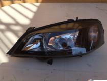 Far stanga tuning Opel Astra G cu lupa