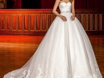 Rochie mireasa amanda bridal - patricia by elite mariaj