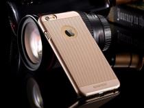 Husa Din Plastic Auriu Argintiu Pentru Iphone 6 Plus 6S Plus