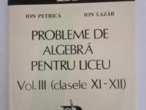 Probleme de algebra pentru liceu (clasele XI-XII)