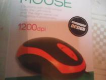 Mouse optic nou 3 butoane, cutie sigilata L11