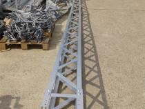 Stalpi metalici zabreliti SMZ-JT-S-8-220-S-Zn