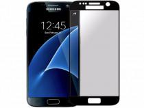 Folie Sticla Samsung Galaxy S7 g930 Black Fullcover Tempered