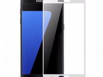 Folie Sticla Samsung Galaxy S7 g930 White Fullcover Tempered